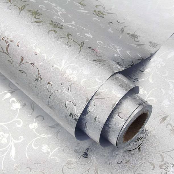 SKYZONE Removable Decorative Kitchen Backsplash Oil-Proof Waterproof Sticker Aluminum Foil Self-Adhesive Peel and Stick Wallpaper Foil Gas Stove Cabinet Contact Sticker Aluminium Foil