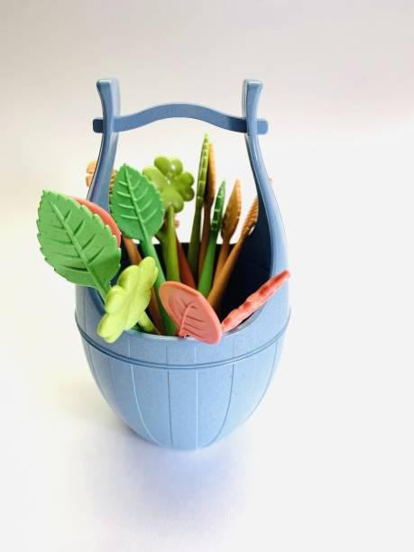 QUAPRO Plastic Fruit Fork Set