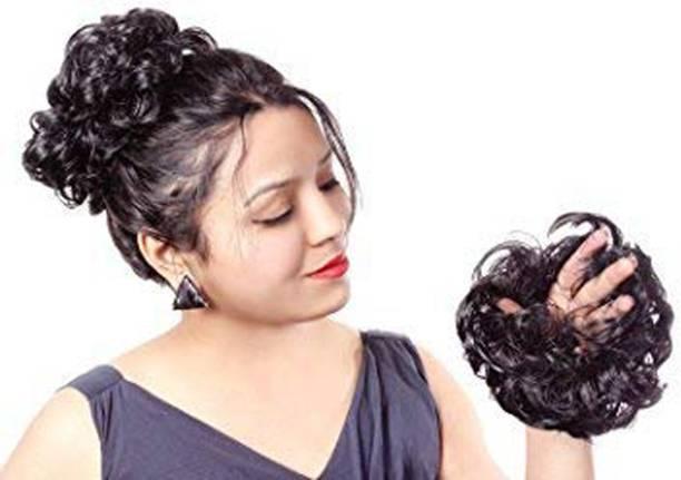 Ritzkart Hair Bun Rubber Elastic Flexi All Purpose Use Bun