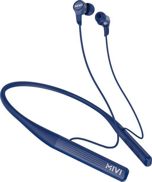 Mivi Collar 2A with Fast Charging Bluetooth Headset