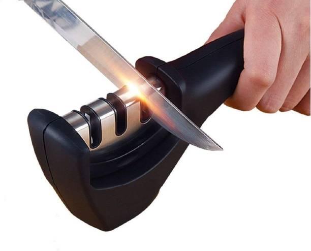 HNESS Knife Sharpener for Kitchen 3-Stage Knives Sharpening Tool Electric Knife Sharpener