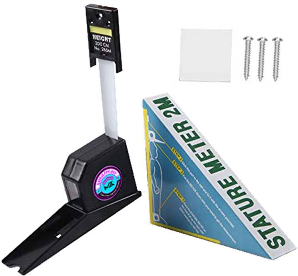 AMAZECARE Wall Mounted Stature Scope Height Measuring Scale for School & Clinics Measurement Tape