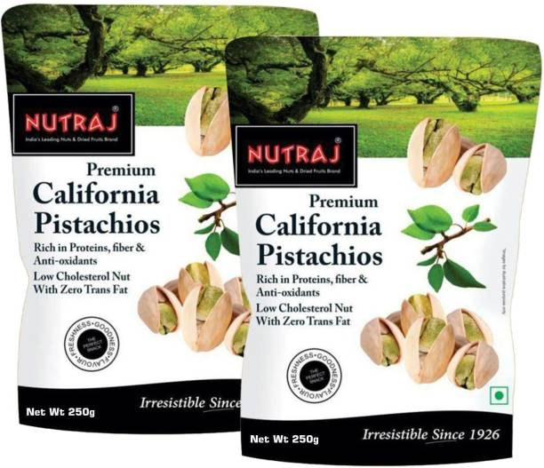 Nutraj California Roasted & Salted Pistachios Pistachios