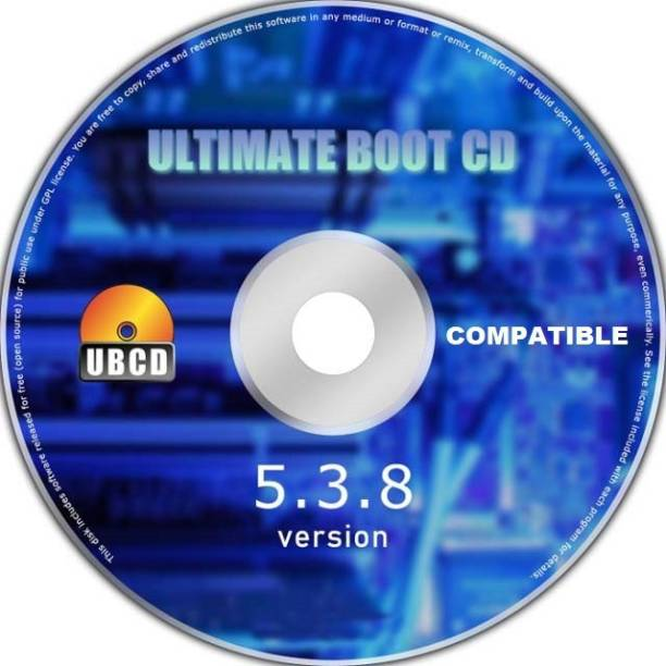 Compatible Ultimate Boot CD Windows 7 8 10 PC Computer Laptop Recovery Restore Fix Repair Boot Disk CD