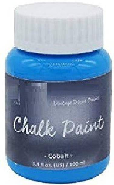 KRAFTMASTERS Art Chalk Paint (Colour Cobalt) 3.4fl Oz 100ML JACP04 These Paint give Your Projects The Perfect Distress Look and Feels.