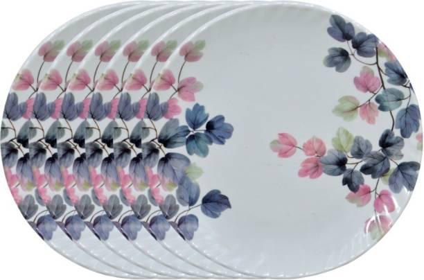 Carnival CREZY (305) 10 INCH FULL DINNER PLATE SET 6 PCS OF MELAMINE Dinner Plate