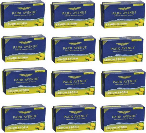 PARK AVENUE Lemon Storm Premium Mens Soap