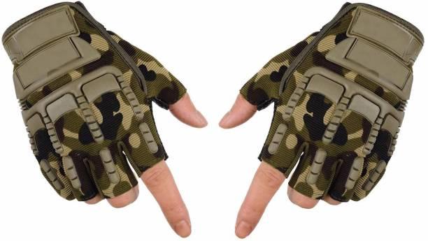 Dexus half-military-gloves Driving Gloves