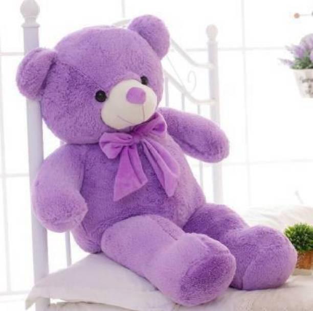Balni Cute Sprinkles Purple 85 Cm 3 feet Huggable And Loveable For Someone Special Teddy Bear - 85 cm (Purple)  - 85 cm