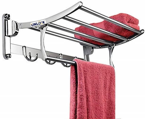 unlock Rack_001 Silver Towel Holder