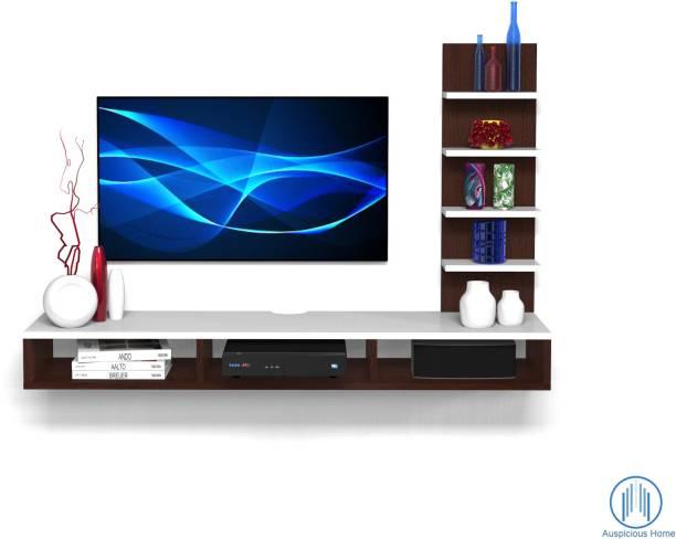 Auspicious Home Megllan Standard TV Unit Engineered Wood TV Entertainment Unit