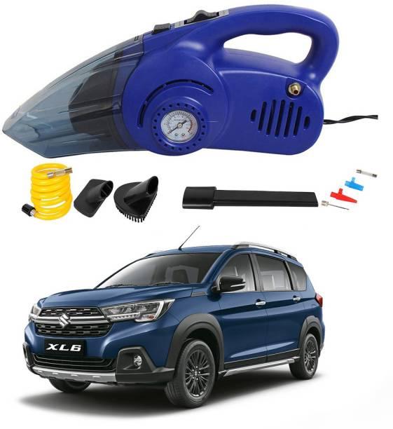 Oshotto 100W 2 in 1 Vacuum Cleaner cum Tyre Inflator for Maruti Suzuki XL6 Car Vacuum Cleaner