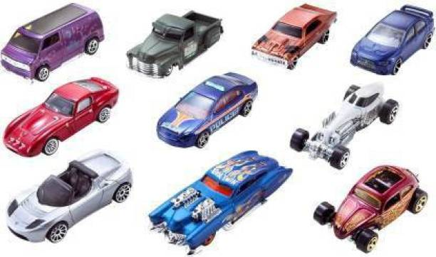 Smartcraft Toy Cars - Pack of 10, Cars