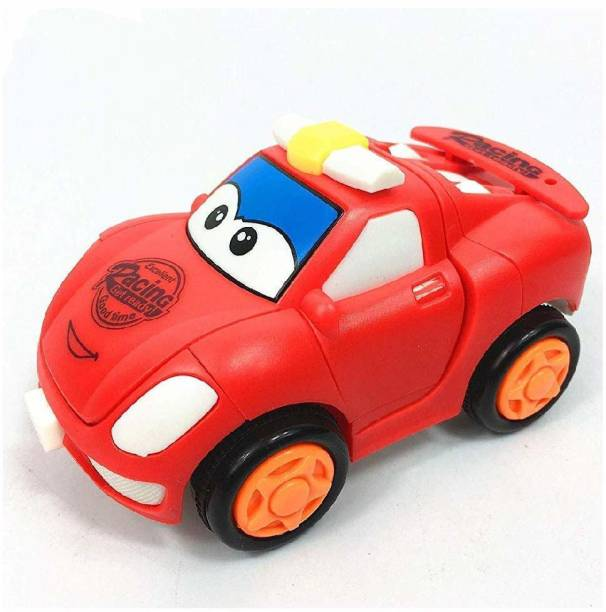 K A Enterprises Push and Go Transformed Cars 4 Wheels Drive Vehicle for Toddlers Baby Boy Girl Children Kids Gift(Set of 1).