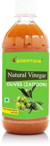 BREWTANE Pure Natural Olive Vinegar, Zaitoon Sirka Vinegar