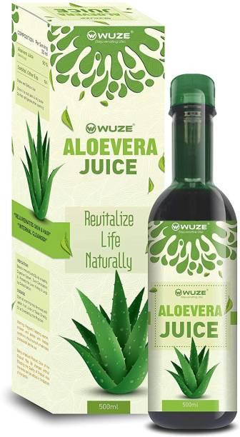 Wuze Aloe Vera Juice (Boosts Immunity And Rejuvenates the Body) -500ML