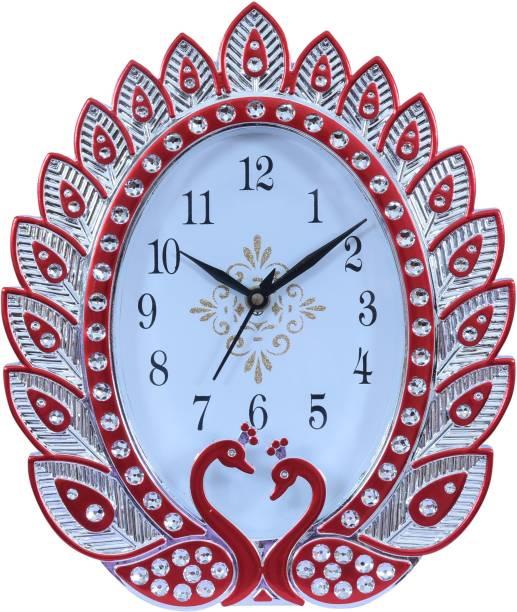 Sigaram Analog 28 cm X 23 cm Wall Clock