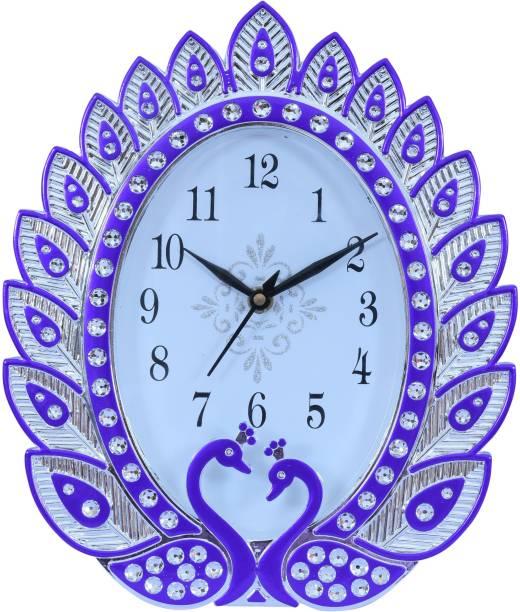 Sigaram Analog 22.1 cm X 26.4 cm Wall Clock