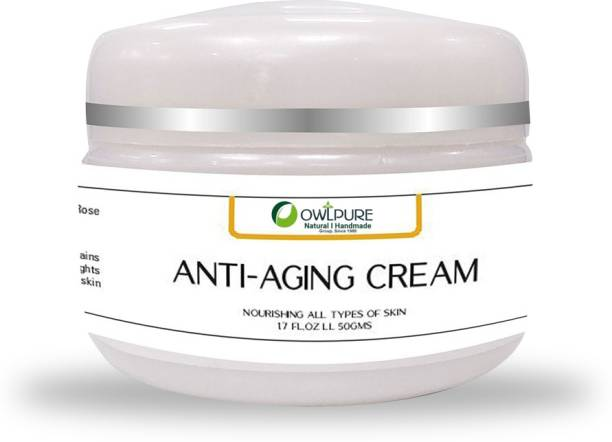 Owlpure Natural, Organic & Handmade, Anti-Aging Cream for Face, Skin & Wrinkle dark spots Reduction Day And Night Cream