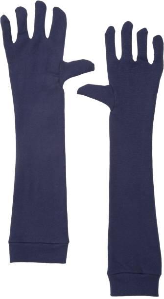 IM UNIQUE Cotton, Nylon Arm Sleeve For Men & Women
