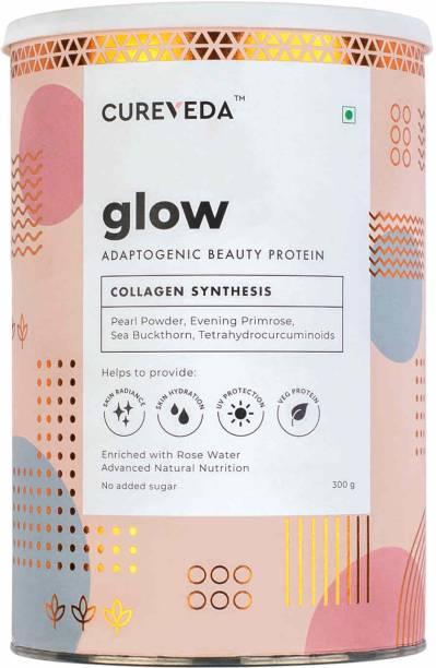Cureveda Glow - Plant Based Collagen Builder Powder - pack of 1