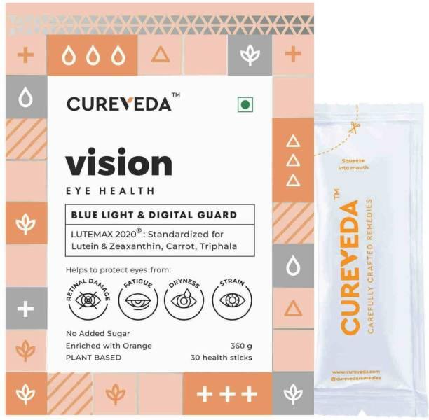 Cureveda Vision - Plant based Blue Light & Digital Guard - 30 sachets