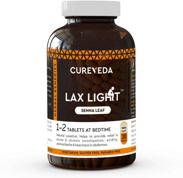 Cureveda Lax Light Senna Leaf - constipation relief - pack of 1