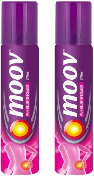 MOOV Instant Pain Relief Spray - 50 g, Pack of 2 Spray