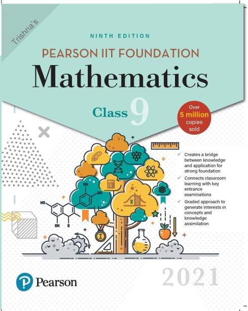 Pearson Iit Foundation Mathematics Class 9