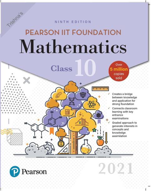 Pearson IIT Foundation Mathematics | Class 10| 2021 Edition| By Pearson