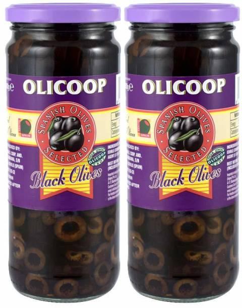Olicoop Black Sliced Olives |Product Of Spain Olives