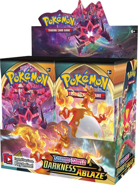 AncientKart Pokemon cards Sword and Shield Darkness Ablaze booster box