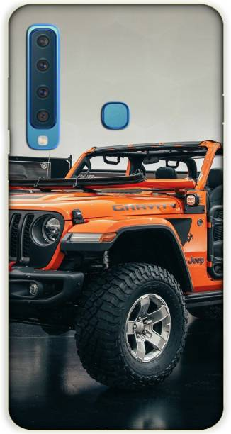 iprinto Back Cover for Samsung Galaxy A9 2018 Gravity Jeep Back Cover