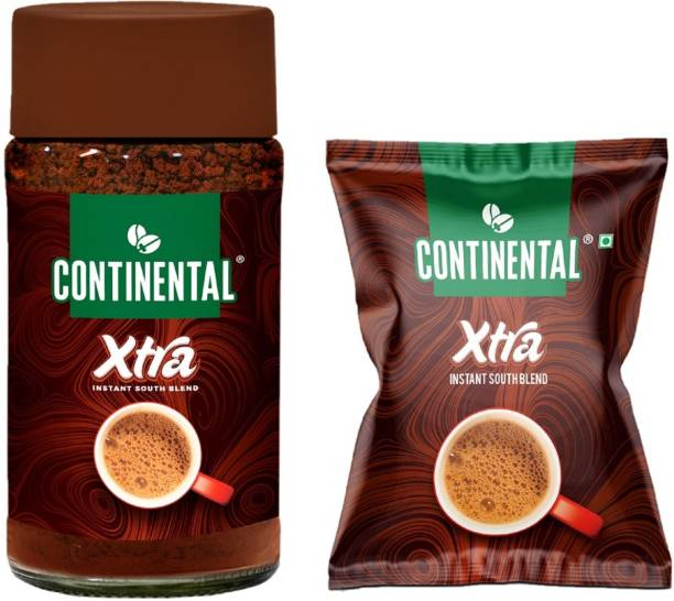 Continental Coffee XTRA Coffee 50g Jar and 25g Pouch Instant Coffee