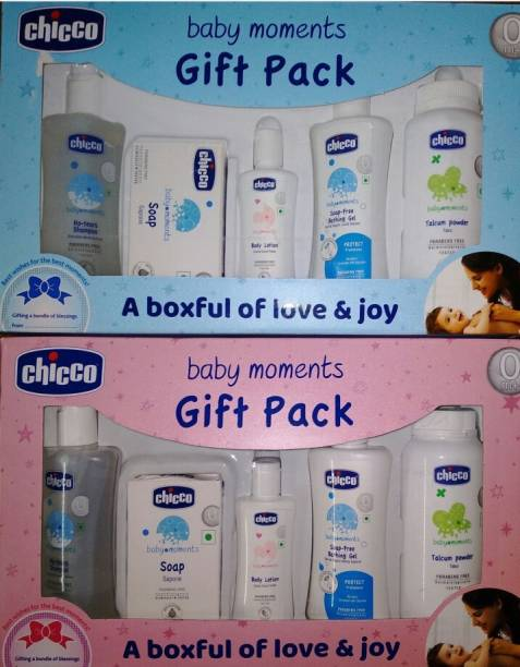 Chicco giftpack pink&blue