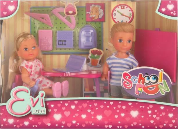 SIMBA Multi Color EL School Fun For Baby Girls