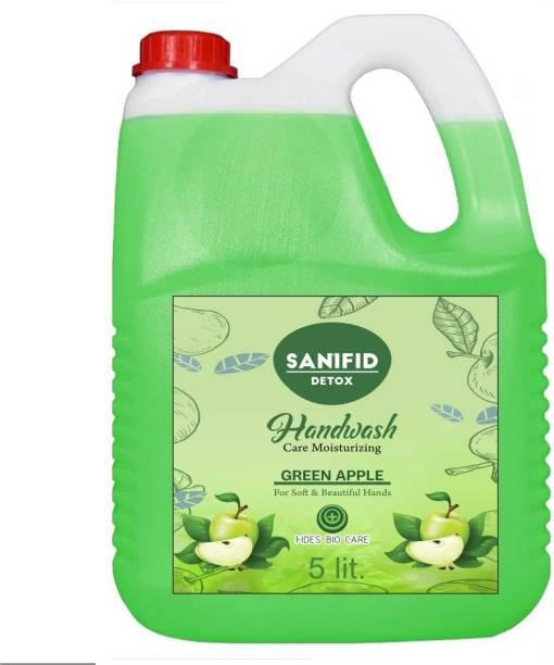 sanifid GREEN APPLE_5L Hand Wash Can