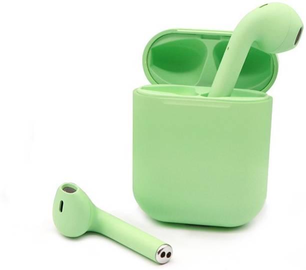 radula Iinpodsi12 green smart airpods with touch sensor Bluetooth Headset