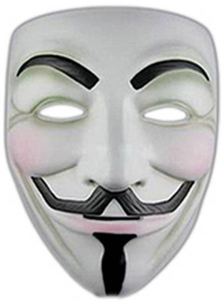 Fancy Steps V for Vendetta Comic Face Anonymous Guy Fawkes Party Mask