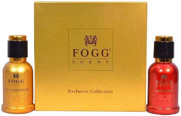 FOGG The Chief and The Commander Gift Set (50ML Each) Eau de Parfum  -  100 ml