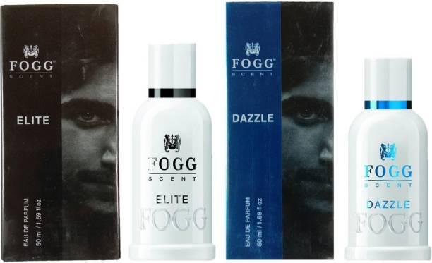 FOGG DAZZLE PERFUME 50ML + ELITE PERFUME 50ML Eau de Parfum  -  50 ml