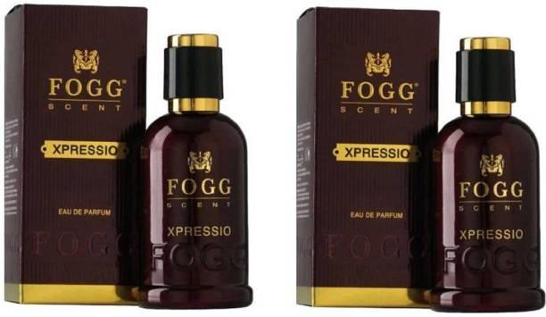FOGG Scent Xpressio EDP Perfume Pack of 2 (90ML each) Eau de Parfum  -  180 ml