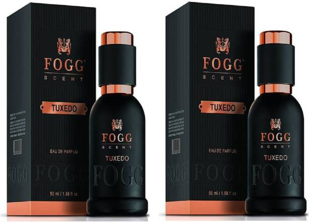 FOGG Scent Tuxedo EDP Perfume Pack of 2 (50ML each) 100ML Eau de Parfum  -  100 ml