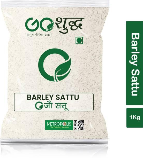 Goshudh Premium Quality Jau Sattu (Barley Sattu)-1Kg (Pack Of 1) 1000 g