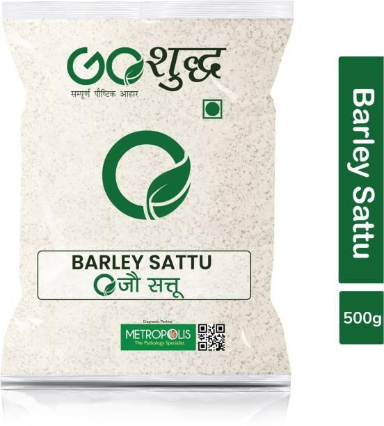 Goshudh Premium Quality Jau Sattu (Barley Sattu)-500gm (Pack Of 1) 500 g