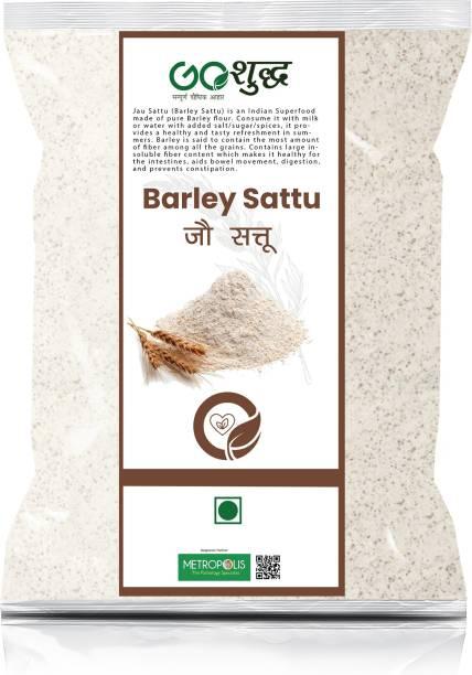 Goshudh Premium Quality Jau Sattu (Barley Sattu)-2Kg (Packing) 2000 g
