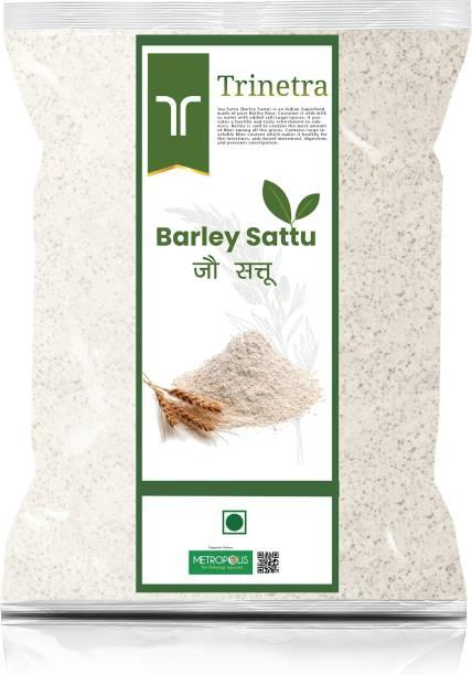 Trinetra Best Quality Jau Sattu (Barley Sattu)-2Kg (Packing) 2000 g