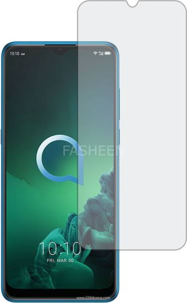 Fasheen Tempered Glass Guard for ALCATEL 3X 2019 (ShatterProof, Flexible)