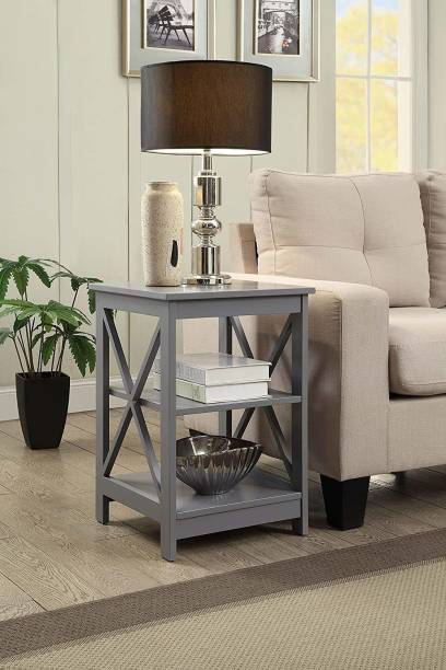 PRITI Convenience Concepts Oxford End Table Engineered Wood Side Table