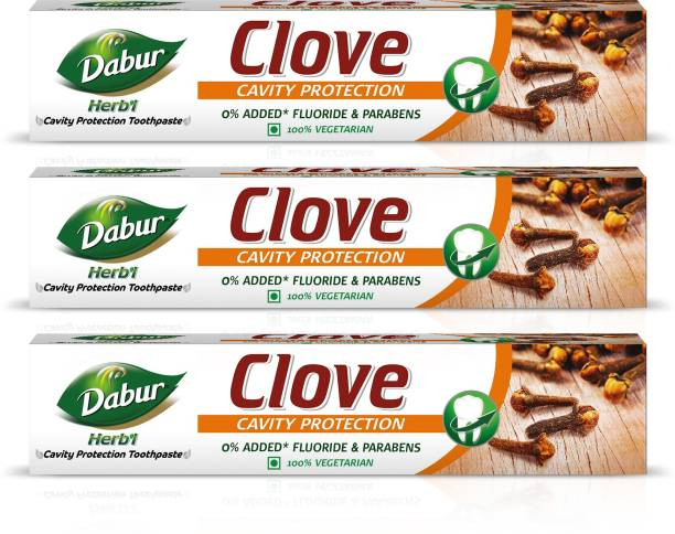Dabur Herb'l Clove - Cavity Protection Toothpaste Toothpaste